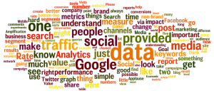 Web Analytics Wordle