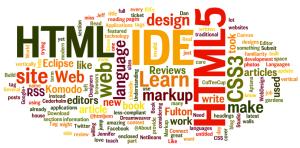 WordPress Design Wordle graphic