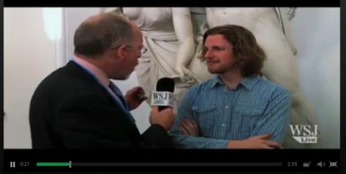 Matt Mullenweg of WordPress interviewed by Wall Street Journal.