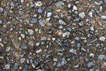 gravel in dirt
