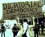 history freedom of speech dictatorial democracy