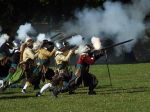 history reinactment of ancient battle