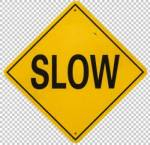 sign slow