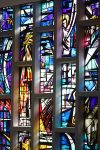 stain glass window-Assumption_Church_(15),_August_2009