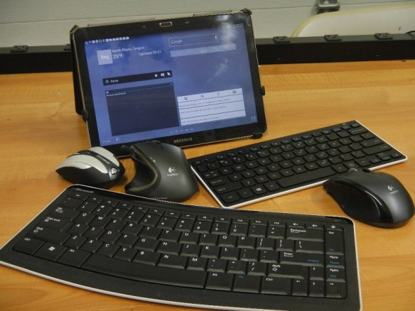 Examples of bluetooth keyboard and mice for tablets