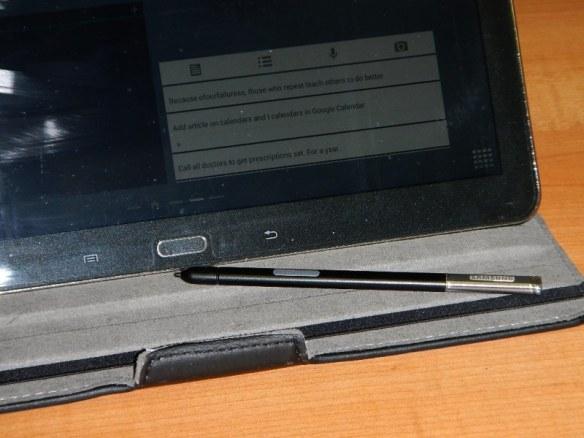 Samsung smart pen for Galaxy tablet.