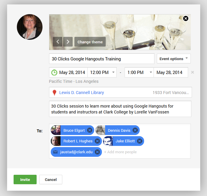 Google+ Hangouts For 30 Clicks | Learning from Lorelle